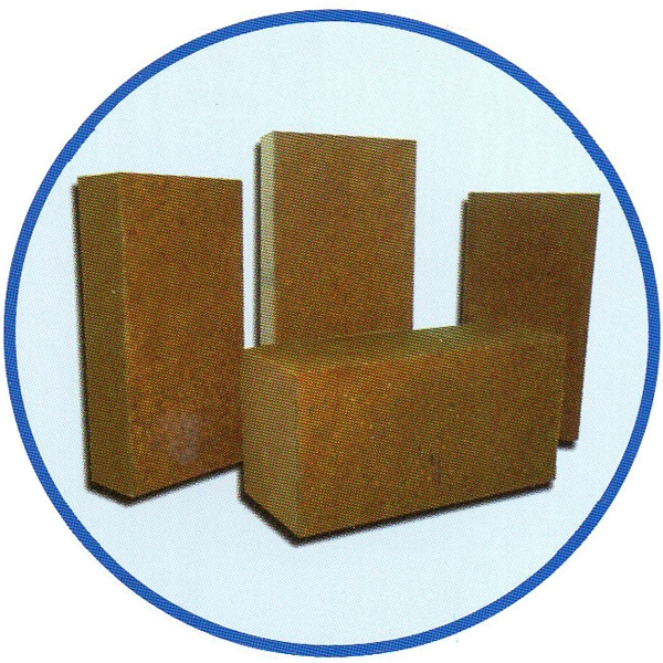 Synthetic forsterite brick