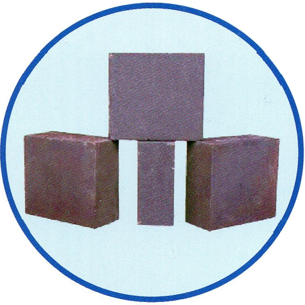 Magnesium iron spinel brick